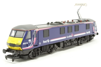"R3053A-PO04 Class 90 90019 ""First Scotrail"" with EWS cabside branding. - Pre-owned - Like new"