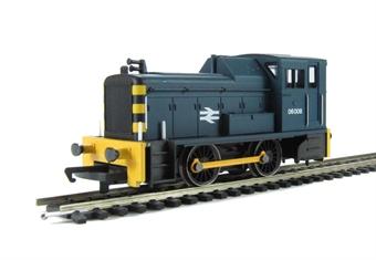 R3065 Class 06 shunter 06008 in BR blue - Railroad Range
