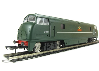 R3068 Class 42 'Warship' D802 in BR Green - Railroad Range.