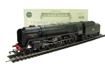 R3072M Class 9F 2-10-0 92220 'Evening Star' in BR Green with late crest - Legends Series