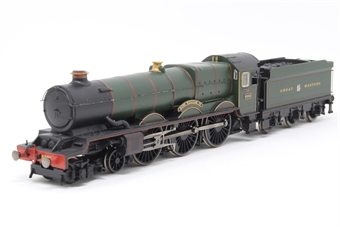 """R3074-PO02 Class 6000 King 4-6-0 """"King William IV"""" 6002 in GWR Green - The Royal Mail Great British Railways Collection. Limited edition - Pre-owned - Like new"""
