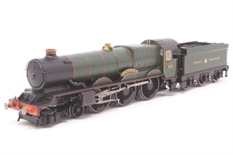"""R3074-PO03 Class 6000 King 4-6-0 """"King William IV"""" 6002 in GWR Green - The Royal Mail Great British Railways Collection. Limited edition - Pre-owned - DCC fitted - footplate loose in box - replacement box"""