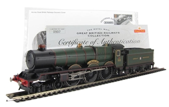 """R3074 Class 6000 King 4-6-0 """"King William IV"""" 6002 in GWR Green - The Royal Mail Great British Railways Collection. Limited edition"""