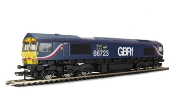 """R3076 Class 66 66723 """"Chinook""""in First GBRf 'Barbie' Livery."""