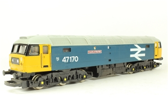 R307A Class 47 47170 'County Of Norfolk' in BR Blue with large logo