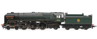 "R3096 Britannia Class 4-6-2 ""William Shakespeare"" 70004 in BR Green - 40 Years since end of ""Golden Arrow Boat Train"" Ltd. Ed."