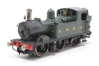 R3117-PO08 Class 14xx 0-4-2T 4819 in GWR Green - Pre-owned - DCC fitted poor runner, wire sticking out of rear