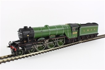 """R3132 Class A3 4-6-2 2599 """"Book Law"""" in LNER apple green"""