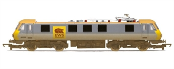 R3139NotProduced Class 90 90036 ex Railfreight Distribution with EWS logo. Weathered. Withdrawn from 2012 range