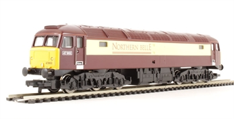 R3153 Class 47 47862 in Northern Belle Pullman livery. Railroad range