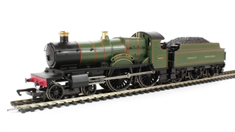 """R3157 County Class 4-4-0 3826 """"County Of Flint"""" in GWR Green"""
