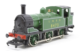 R316-J83-PO05 Class J83 0-6-0T 8473 in LNER Green - Pre-owned - replacement box £38
