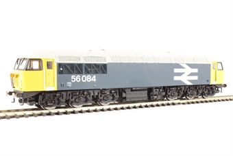R3181 Class 56 56084 in BR large logo blue