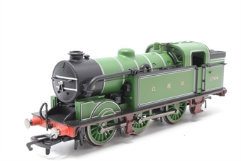 R3187-PO08 Class N2 0-6-2T 1744 in GNR green - Pre-owned - wobbly runner - imperfect box