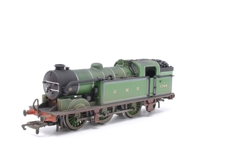 R3187-PO09 Class N2 0-6-2T 1744 in GNR green - Pre-owned - TMC weathered - Noisy runner - imperfect box