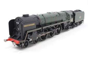 R3191-PO13 Class 8 4-6-2 71000 'Duke Of Gloucester' in BR Green with late crest - Special Edition with etched nameplates - Pre-owned - replacement box