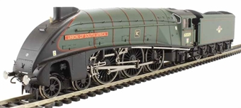 R3198 Class A4 4-6-2 60009 'Union Of South Africa' in BR Green with late crest - The Great Gathering range with etched nameplates