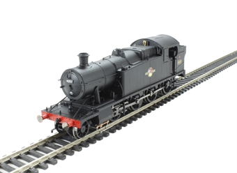 R3223 Class 42xx 2-8-0 4257 in BR Black with late crest