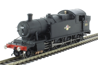 R3224 Class 52xx 2-8-0T 5239 in BR black with late crest