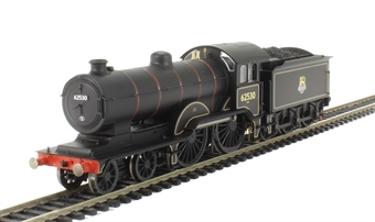 R3234 Class D16/3 'Claud Hamilton' 4-4-0 62530 in BR Black with early emblem