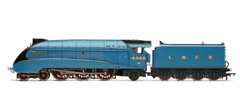 """R3251 Class A4 4-6-2 4468 """"Mallard"""" in LNER Garter Blue with etched nameplates - The Great Goodbye"""