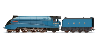 """R3254 Class A4 4-6-2 4464 """"Bittern"""" in LNER Garter Blue with etched nameplates - The Great Goodbye"""