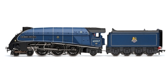 """R3256 Class A4 4-6-2 60007 """"Sir Nigel Gresley"""" in BR Blue with early emblem with etched nameplates - The Great Goodbye"""
