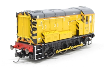 R3261-PO02 Class 08 08417 in Network Rail livery - Pre-owned - DCC Sound-fitted - Low volume - Fitted with Kadee couplings and directional lighting