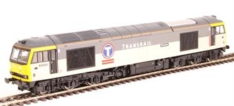 """R3267 Class 60 60005 """"Skiddaw"""" in Transrail triple grey"""