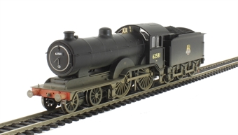 R3303 Class D16/3 4-4-0 62581 in BR Black with early emblem (weathered)