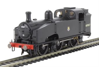R3325 Class J50/4 0-6-0T 68987 in BR Black with early emblem