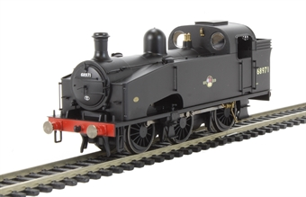 R3326 Class J50/3 0-6-0T 68971 in BR Black with late crest
