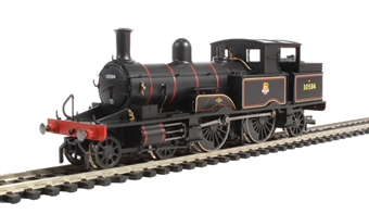 R3333 Class 415 Adams Radial 4-4-2T 30584 in BR black with early emblem