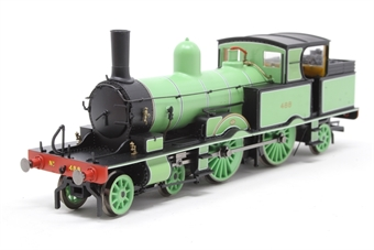 R3335-PO02 Class 415 Adams Radial 4-4-2T 488 in LSWR green - as preserved - Pre-owned - Like new