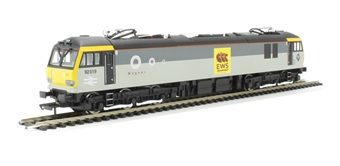 """R3347 Class 92 92019 """"Wagner"""" in Railfreight/EWS livery"""