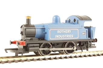 R3359 ex-GWR Class 101 0-4-0 393 'Rothery Industries' - Railroad Range