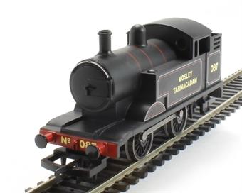 "R3360 Freelance 0-4-0T 87 ""Mosley Tarmacadam"" in black - Railroad Range"
