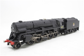R3396TTS-PO02 Class 9F with Crosti Boiler 2-10-0 92025 in BR Black with early crest - TTS sound fitted - Railroad Range - Pre-owned - Like new
