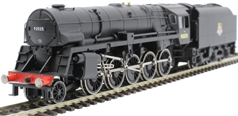 R3396 Class 9F with Crosti Boiler 2-10-0 92025 in BR Black with early emblem - Railroad Range