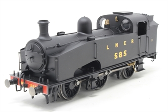 R3405-PO04 Class J50 0-6-0T 585 in LNER black - Pre-owned - Imperfect box