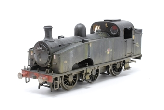 R3406-PO Class J50 0-6-0T Departmental No.14 in BR Black with late crest - Pre-owned - missing couplings, missing detail pack, weathered, imperfect box