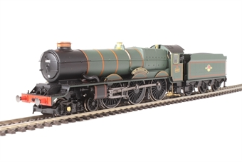 "R3409 Class 6000 King 4-6-0 6002 ""King William IV"" in BR Green with late crest"
