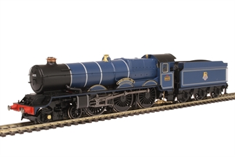 """R3410 Class 6000 King 4-6-0 6025 """"King Henry III"""" in BR Blue with early emblem"""