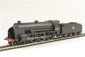 R3412 Class S15 4-6-0 30842 in BR Black with early emblem