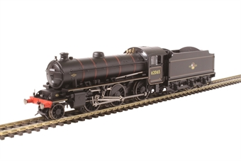 R3417 Class K1 2-6-0 62065 in BR black with late crest