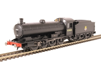 R3425 Class Q6 Raven 0-8-0 63443 in BR Black with early crest