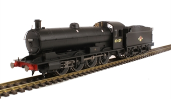 R3426 Class Q6 Raven 0-8-0 63429 in BR Black with late crest