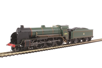 "R3456 Class N15 King Arthur 4-6-0 30792 ""Sir Hervis de Revel"" in BR Lined Green with early emblem"