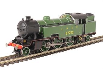 R3461 Class L1 Thompson 2-6-4T 67702 in LNER apple green