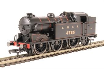 R3465 Class N2 0-6-2T 4765 in LNER black